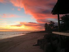 Praia do Saco - Sergipe - Brasil  #sunset #sacobeach #beach #brasil - Foto de Lais d'Ávila