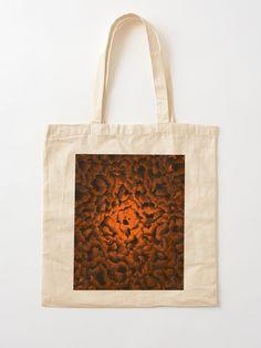 """Honey.be.e Like A Ghost"" Cotton Tote Bag, print design by Asmo Turunen. #design #totebag #shoppingbag #kestokassi #kangaskassi #atcreativevisuals"