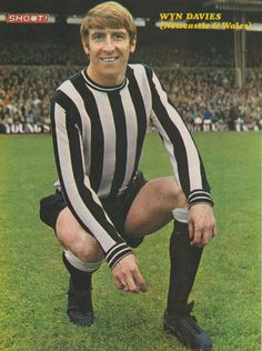 Wyn Davies Newcastle United 1969