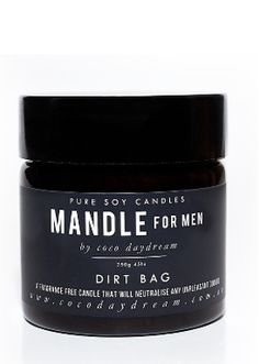 Coco Daydream Dirt Bag Mandle Candle