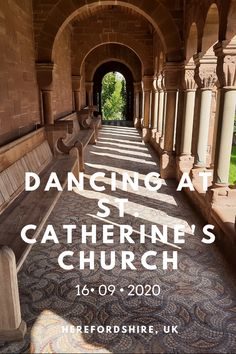footSTEPS is a blog that follows Gemma, a professional dancer, as she creates short dance films on her travels around the world. In the glorious summer sunshine, I meander around the buildings that make up St. Catherine's - a 19th Century Chapel in Hoarwithy, Herefordshire in the UK.
