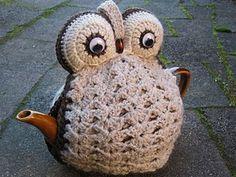 The Queen of the Tea Cosies, crochet tea cosie