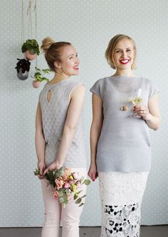 Maailman helpoin pellavaneule   Meillä kotona Girls Dresses, Flower Girl Dresses, Knitting, My Style, Wedding Dresses, Summer, Fashion, Dresses Of Girls, Bride Dresses