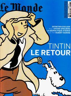 Le Monde - Tintin le retour