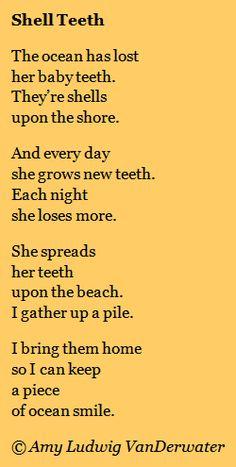 The Poem Farm: Shell Teeth - THE PRIVATE EYE