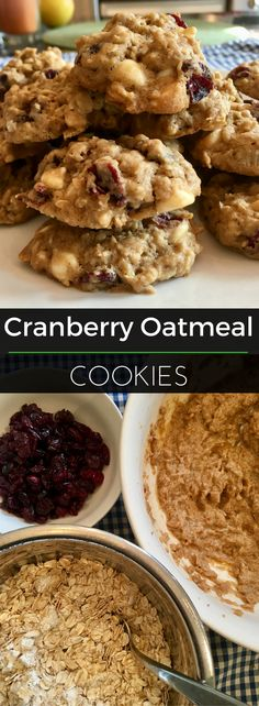 These cranberry oatm