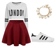 """"""""""" by cupcakes2516 on Polyvore featuring Forever 21, ONLY, adidas, women's clothing, women's fashion, women, female, woman, misses and juniors"""