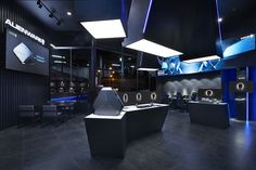 Alienware theme store and internet café by Gramco Kunming  China