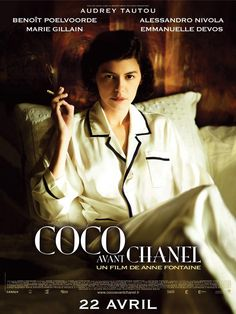 I loved the fashion in this movie and the peek into the history of Coco Chanel.