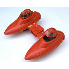 "The classic Bespin Twin-Pod Cloud Car, from the ""Star Wars: The Empire Strikes Back"" line of toys in the early '80s"