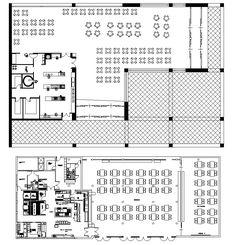 Restaurant blocks and plans – CAD Design | Free CAD Blocks,Drawings,Details