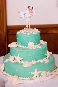 My Hotel Wedding - wedding cakes,  Beach Wedding Cakes www.loveitsomuch.com