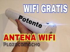 ►antena ULTRA POTENTE WIFI, capta 20KMS,WIFI GRATIS. ANTENA JUMBO - YouTube