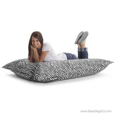 16 Best Zebra Print Bean Bags Images Bean Bag Chair