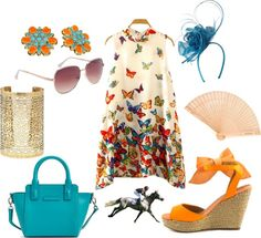 A perfect look for the Belmont Stakes! The best part? No item costs more than $50! Race Day Fashion, The Belmont Stakes, Royal Ascot, 40th Birthday, Wardrobes, Pretty Dresses, Looks Great, Dressing, Fashion Outfits