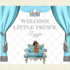 silver and baby blue, royal little prince, crown, christening, birthday, baby shower, backdrop, sign poster, party, decor, king, 72x60'' by STYLEMEMIAMIADESIGN on Etsy https://www.etsy.com/listing/386308472/silver-and-baby-blue-royal-little-prince