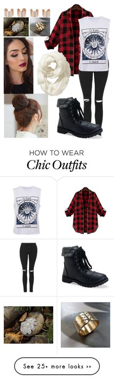 """It's Autumn"" by chloesue0327 on Polyvore featuring Topshop, Bomedo, Aéropostale, Pin Show, Maison Margiela and Old Navy"