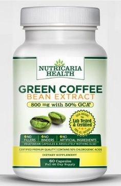 Green coffee bean belly fat