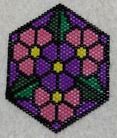 Mandala type bead patterns e-book by DontEatThePaste on Etsy