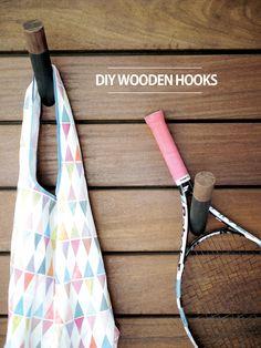 Project Nursery - DIY Wooden Hooks Tutorial - Project Nursery