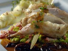Recepten - Brochette van kwarteltjes met Rodenbach