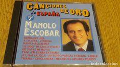 MANOLO ESCOBAR / CANCIONES DE ORO DE ESPAÑA / VOL 2 / CD / DIVUCSA-1989 / 15 TEMAS / PRECINTADO.