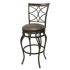 Shop Oil Rubbed Bronze 30-in Bar Stool at Lowes.com