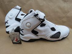 REEBOK ATR The Pump Men's Basketball Shoes White Size 11.5 NIB NEW DEADSTOCK #Reebok