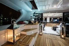 Sunreef Yachts is delighted to announce that the first unit of the ready-to-sail yacht, Sunreef 60 LOFT was launched in October This luxury 'pret-a-porter' … Sunreef Yachts, Loft Interiors, Yacht For Sale, Power Boats, Luxury Yachts, Catamaran, Planets, Sailing, Deck