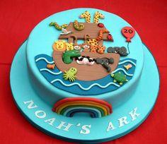 Noah's Ark  Cake by RachelCapstick #Bible #Biblecraft