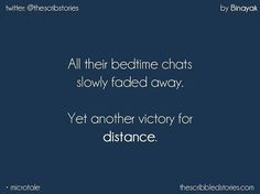 It was distance or our love was not strong? e wondered. Bae Quotes, Story Quotes, Sad Love Quotes, Qoutes, Heart Touching Story, Touching Stories, Tiny Stories, Short Stories, Tiny Tales