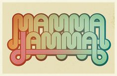 Lettering by Super Furry