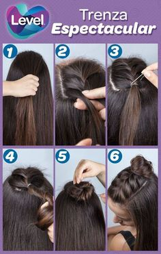 Curly Updo with a Crown Braid - 50 Cute Updos for Natural Hair - The Trending Hairstyle Cute Hairstyles For Medium Hair, Medium Hair Styles, Short Hair Styles, Trending Hairstyles, Hairstyles Haircuts, Braided Hairstyles, Natural Hair Updo, Natural Hair Styles, Concert Hairstyles