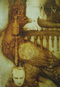 "kidpix: ""Алиса ищет птицу"" / ""Алиса в доме волшебника"" (художник Кирилл Чёлушкин) 2011 г."