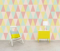 The decoration in triangle mode - Trendy Home Decorations