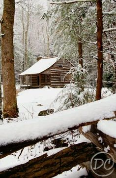 Cades cove in the winter http://www.pantherknobcottages.com