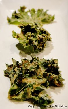 Ginger Miso Kale Chips from Nouveau Raw