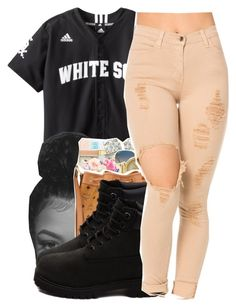 """U With Me?"" by queen-vanessa ❤ liked on Polyvore featuring Timberland"