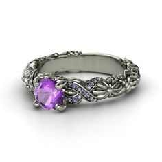 Epilepsy Ribbon Ring
