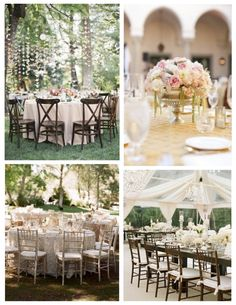Under Nature's Canopy:  The Elegant & Natural Outdoor Affair