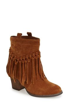 Free shipping and returns on Sbicca 'Sound' Fringe Suede Bootie (Women) at Nordstrom.com. Put a little swing in your step with a soft suede bootie trimmed in lush fringe.