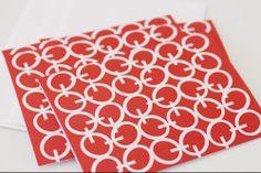 i love red and white together! www.etsy.com/shop/aciskedesign