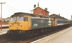 Network South East, Waterloo-Exeter Class 47 Action
