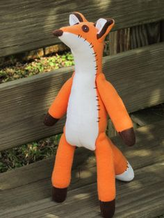 Fox little prince fox #plush #toy #fox #little #prince stuffed by #HappyRetroVintage