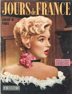 Marylin Monroe - Jours de France n°20, 24 mars 1955