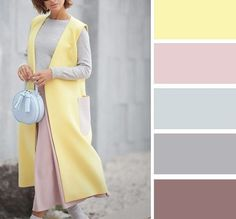 Color Harmony: The Summer colors are harmonious and have a light undertone. Colour Combinations Fashion, Color Combinations For Clothes, Fashion Colours, Colorful Fashion, Color Schemes Colour Palettes, Colour Pallete, Color Trends, Color Combos, Color Harmony