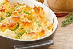 Breakfast Cauliflower Mushroom Casserole