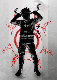 Crimson Ninja by Fanfreak  | Displate