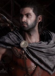 """""""I am Alexios!"""" Edwards Kenway, Assassins Creed Odyssey, Assassin's Creed, Video Games, Gaming, Fandoms, Characters, Artwork, Videogames"""