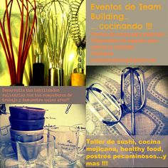 IZARD Y COCINA: Propongo nuevos cursos de cocina para empresas